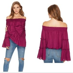 Free People Free Spirit Off the Shoulder Top XS